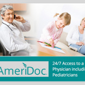 AmeriPlan: AmeriDoc Offers 24/7 Access To A U.S. Physician Including Pediatricians National Provider