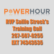 Regional Vice President Recorded Power Hour Training Call With Sallie Streck Recap