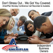 AmeriPlan Monday Conference Call Recorded & Available