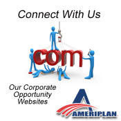 Stay Connected, Join Us, Like Us, Share Us… Build Your Social Network With AmeriPlan
