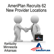 AmeriPlan Adds 62 New Locations To Our Network