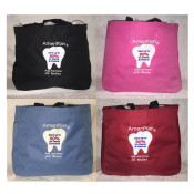 """SPECIAL OFFER"" AmeriPlan Personalized Embroidered Tote Bags"