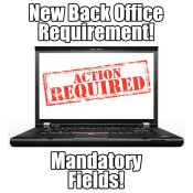 Attention BCs: New Back Office Profile Requirement Fields!