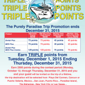 AmeriPlan Purely Paradise Trip Triple Points