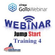 AmeriPlan GoToWebinar Jump Start Bonus Program Training 4 Tuesday June 28th