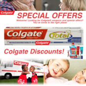 Get Your Colgate Discount And Save Money On Your Oral Heath!