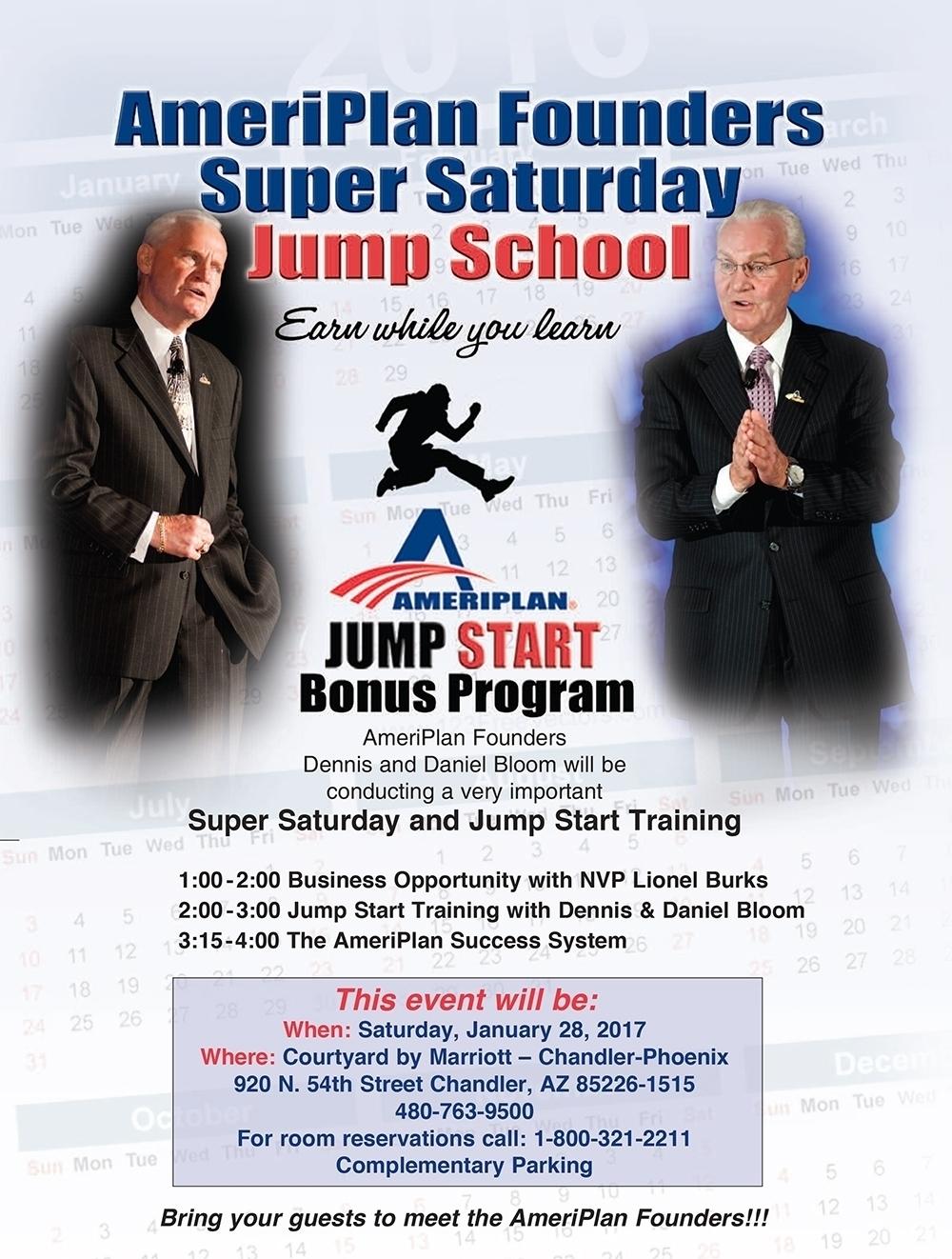 AmeriPlan Jump School Training Phoenix AZ With Dennis And