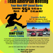 Team AmeriPlan Meeting In Colorado Springs CO With Lionel Burks