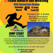 Team AmeriPlan Meeting In Raleigh NC With Demetrius Brown