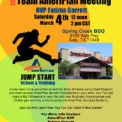 Team AmeriPlan Meeting In Houston TX With Fatima Garrett