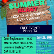 AmeriPlan Summer Blast Hosted By AmeriPlan NVPs And Leaders