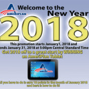 New AmeriPlan January Promotion Win An AmeriPlan Tablet