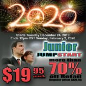2020 JUNIOR JUMPSTART  PROMOTION!!!!