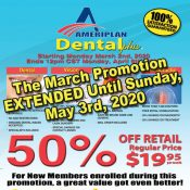 DENTAL PLUS  PROMOTION EXTENDED!!!!
