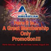 Special July 4th  PROMOTION!!!!