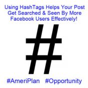 Using AmeriPlan HashTags To Get Your Facebook Post More Searches